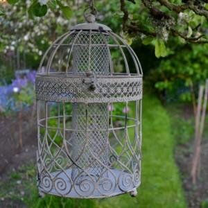 Antique Finish Birdcage Feeder