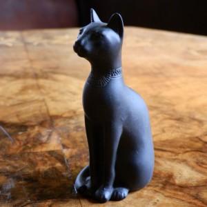 Egyptian Cat Small Black