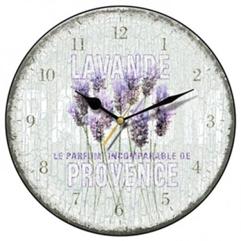 Lavande de Provence Wall Clock
