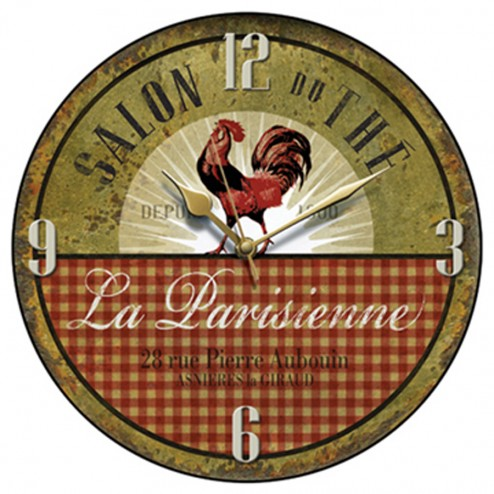 La Parisienne Wall Clock