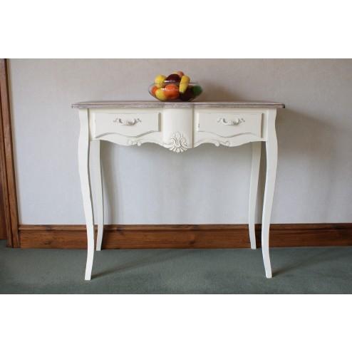 Cream Console Table from the Devon Indoor Furniture Range