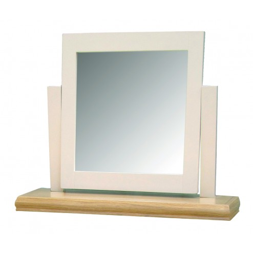 Breton Oak Dressing Table Mirror
