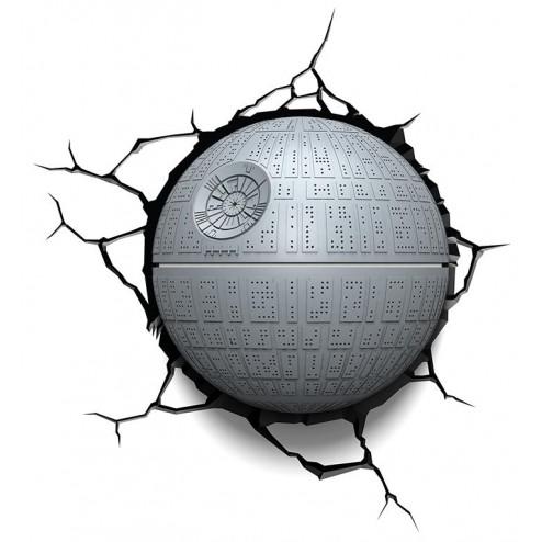 Star Wars Death Star Wall Light