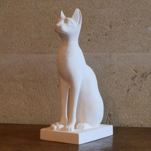 Egyptian Cat Large White