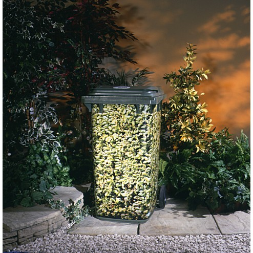 Brilliant Wheelie Bin Cover Camouflage Sticker In An