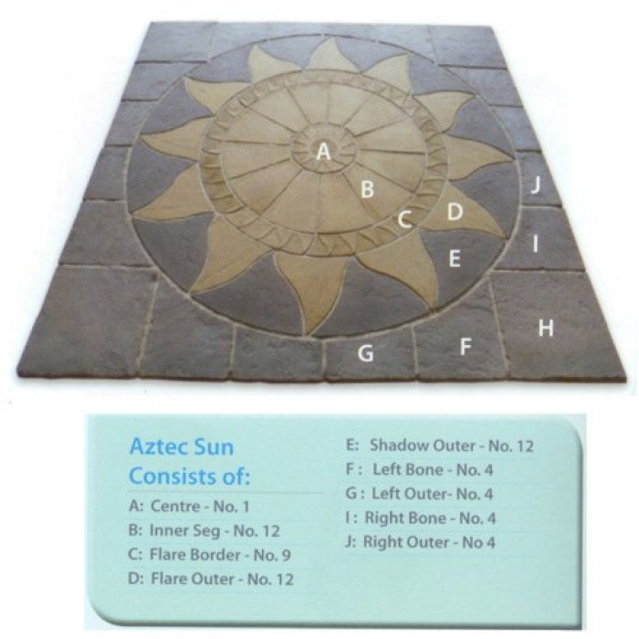 Quality Paving Circle Amp Sq Off Kit 3m Square In An