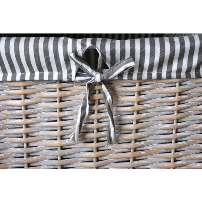 ... Wicker Rattan Baskets With Liner ...