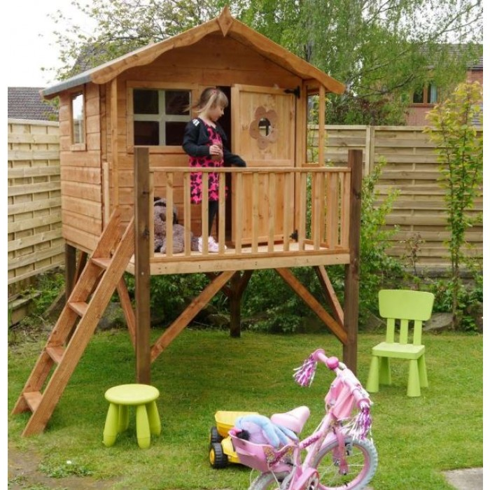 Kingsdale 5 X 5 Outdoor Childrens Playhouse Tower Shed
