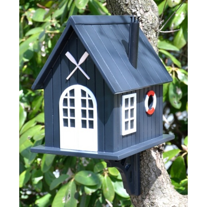 A Stunning Novelty Bird House Feeder Nest Box In