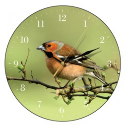 Chaffinch Wall Clock