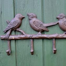Bird Cast Iron Coat Hook