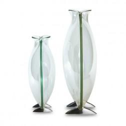 Large Glass Circle Vase