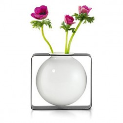 Round Floating Porcelain Vase