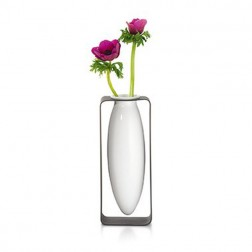 Tall Floating Porcelain Vase