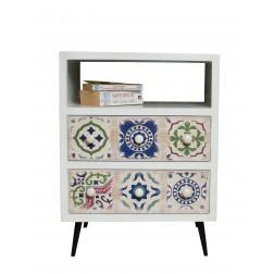 Casamoré Avallon 1 Shelf 2 Drawer Unit