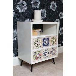 Casamoré Avalon 1 Shelf 2 Drawer Unit