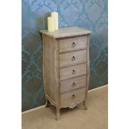 Casamoré Bordeaux 5 Drawer Tallboy