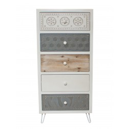 Casamoré Sestri 5 Drawer Tallboy