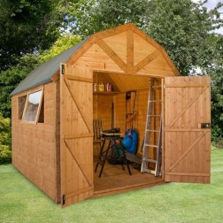 Gowan Dutch Style Tongue and Groove Timber Shed/ Workshop