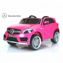 Mercedes Sports Ride on Car - Pink
