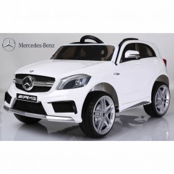 Mercedes Sports Ride on Car - White