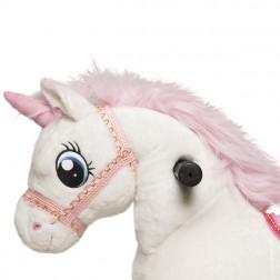Small White Ride on Unicorn