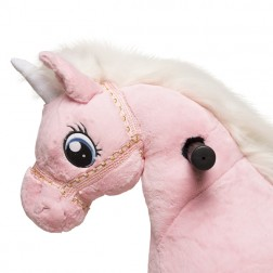 Small Pink Ride on Unicorn