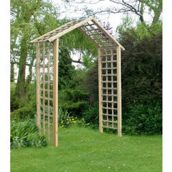 The Atlas Arch FSC Wooden Garden Rose Arch