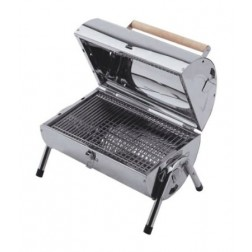 Explorer Stainless Steel Charcoal Barrel BBQ