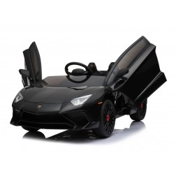 Licensed Lamborghini 12v Electric Ride on Car - Black