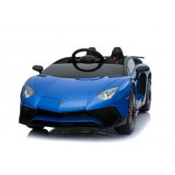 Licensed Lamborghini 12v Electric Ride on Car - Blue