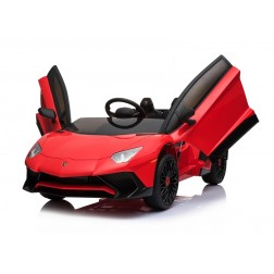 Licensed Lamborghini 12v Electric Ride on Car - Red