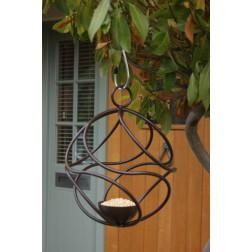 Solid Steel Hanging Bird Feeder Ball