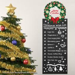Garland Wish List Blackboard Wall Sticker