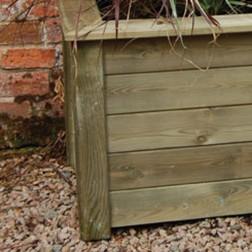 High Quality 1m x 0.5m Garden FSC Wooden Planter Kit - Grow Your Own