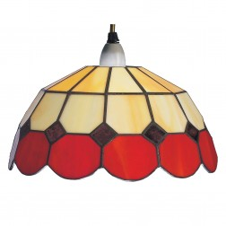 Beige Red Light Shade