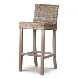Rattan Tall Bar Stool