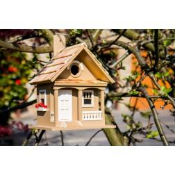 Cottage Bird House - Café Au Lait