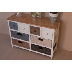 Casamore Camber Wide 8 Drawer Storage Chest