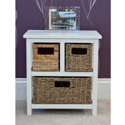 Casamore Camber Natural 3 Drawer Storage Chest
