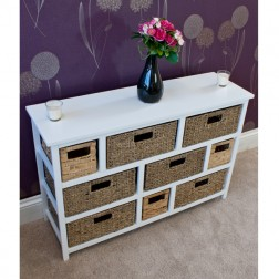 Casamore Camber Natural 9 Drawer Storage Chest