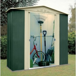 Canberra 'Six' 6 x 3ft Metal Shed