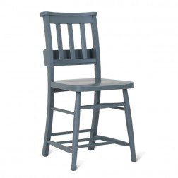 Chapel Chair Charcoal Grey Set of 2