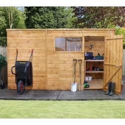 Coledale 10' x 6' Shiplap Pent Wooden Garden Shed
