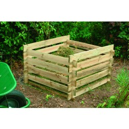 Slot Together Wooden Composter