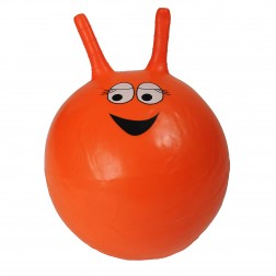 Orange Space Hopper
