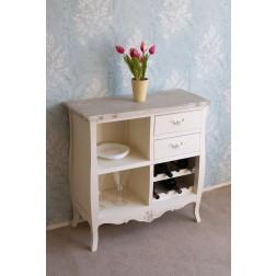 Casamore Devon 2 Drawer 2-Shelf Unit with Wine Rack