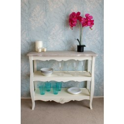 Devon 2 Shelf Console Table