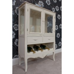 Casamoré Devon 2 Door 2 Drawer Wine Rack