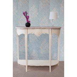 Devon Half Moon Console Table